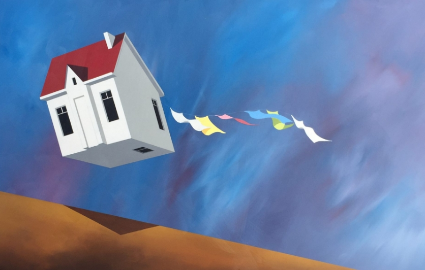 Flying House by Andrew King