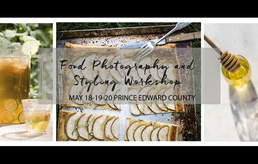 Food photography and styling workshop
