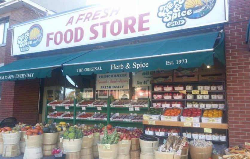 fresh produce at Herb and Spice, Wellington West, Ottawa