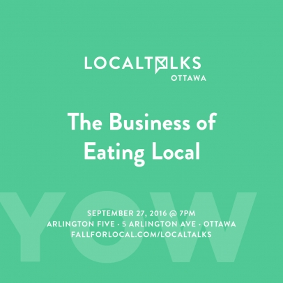 Local Talks: The Business of Eating Local