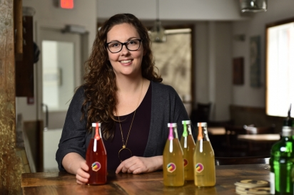 Prior to launching Buchipop, Patricia Larkin, was the head chef at Black Cat Bistro — it's no wonder you can find her kombucha on countless bar menus across Ottawa.