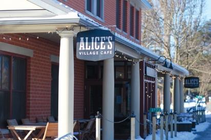 Alice's Village Cafe storefront