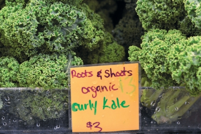 kale at West End Well