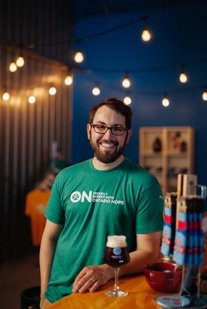 Josh McJannett, co-owner Dominion City Brewing Co.