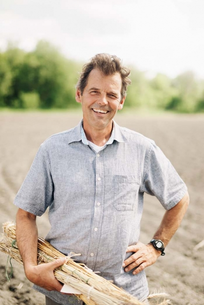 Chris Wooding of Ironwood Organics