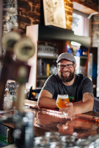 Steve Beauchesne of Beau's All Natural Brewing Co.