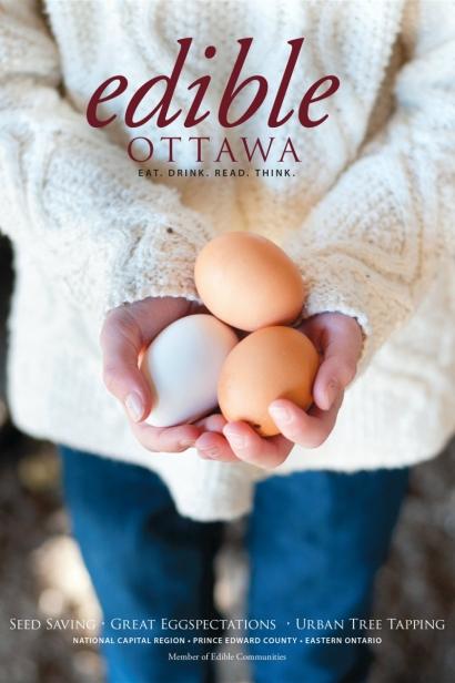 Edible Ottawa March/April 2015 cover