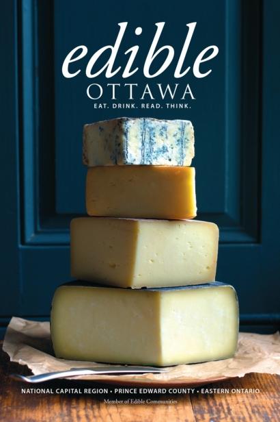 Edible Ottawa November/December 2014 cover