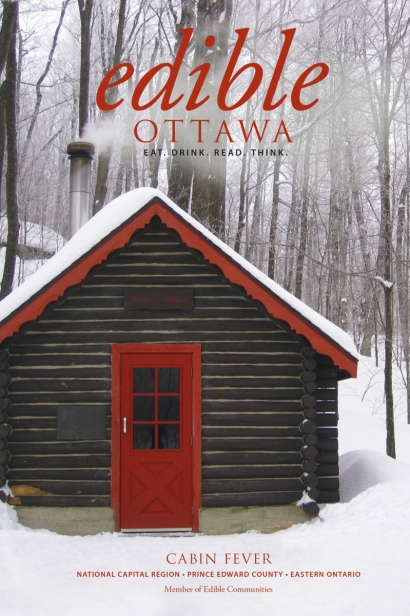 Edible Ottawa January/February 2015 cover