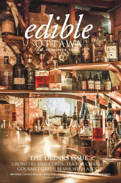 Edible Ottawa January/February 2017 cover