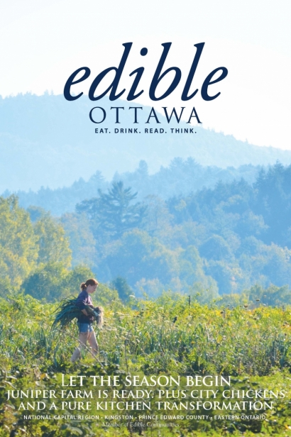 Edible Ottawa May/June 2016 cover