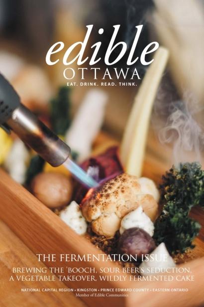 Edible Ottawa March/April 2017 cover